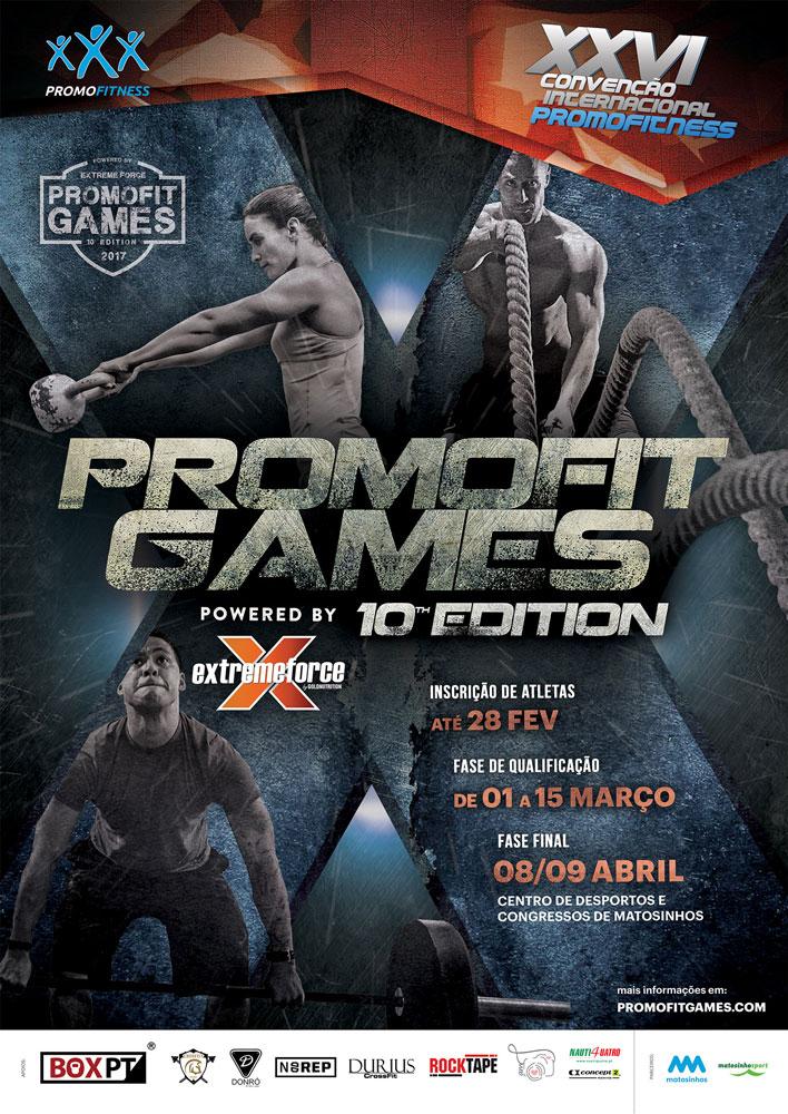 Promofitgames X cartaz