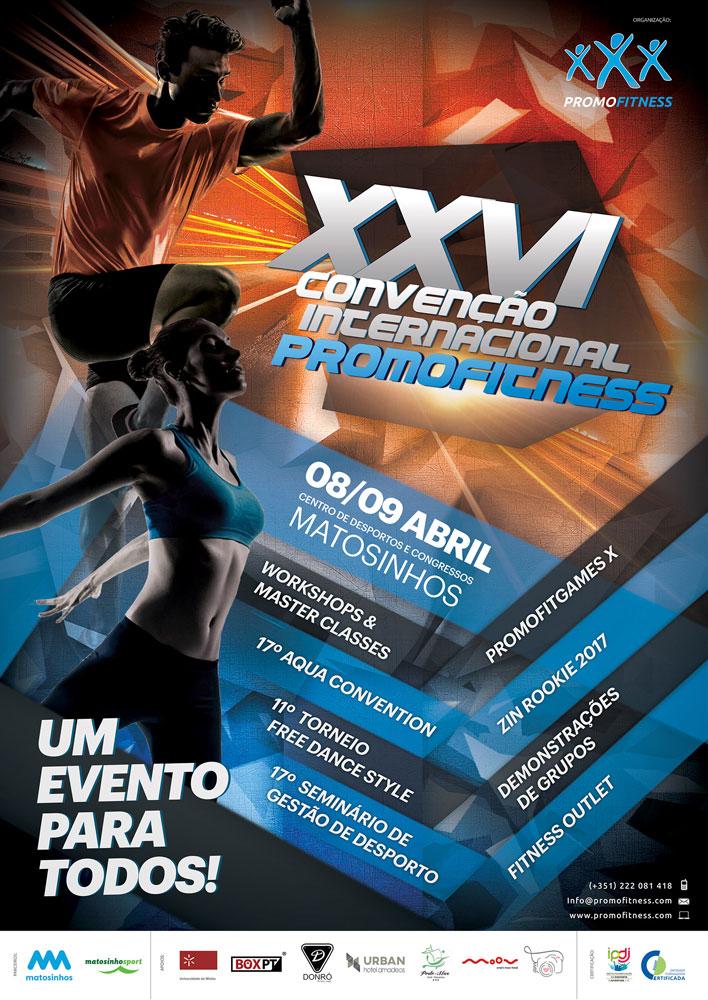 XXVI Convenção Internacional Promofitness cartaz